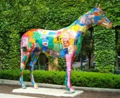 Horse Painted Saratoga