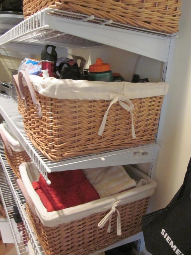 Pantry baskets