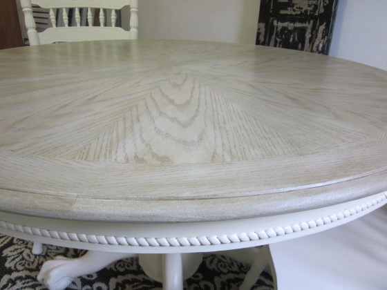 EntriWays.com: Starburst Pedestal Table with Driftwood Stain