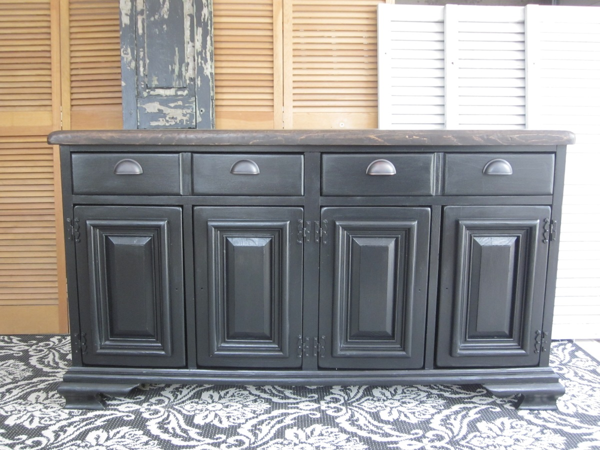 Old World Pottery Barn & Arhaus – Inspired Sideboard EntriWP