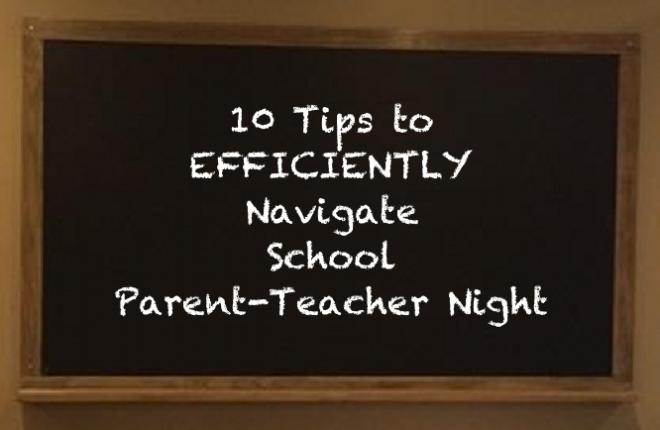 Tips for School Parent-Teacher Night