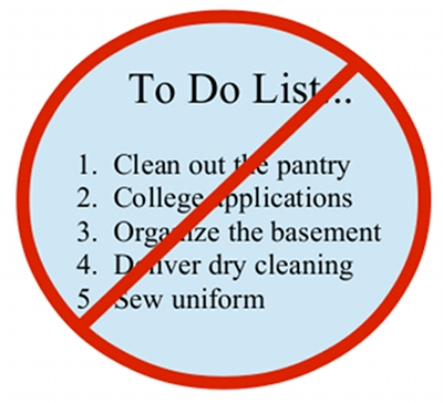 31 days to do list