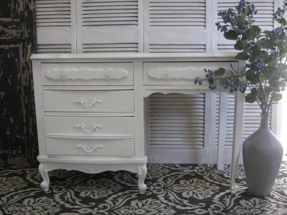 White French Desk