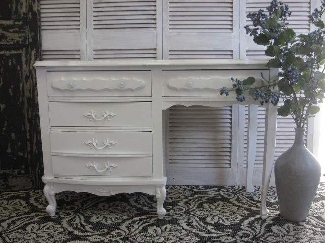 White French Desk